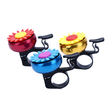 Horns Bicycle-Bell Flower Handlebars Cycling-Ring-Alarm Bike Funny Kids Children