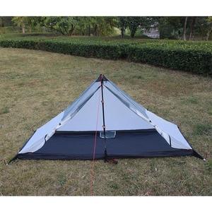 Image 3 - T ドアデザインストラットコーナー超軽量 340 グラム 4 季節屋外キャンプテントフィットほとんどピラミッドテント