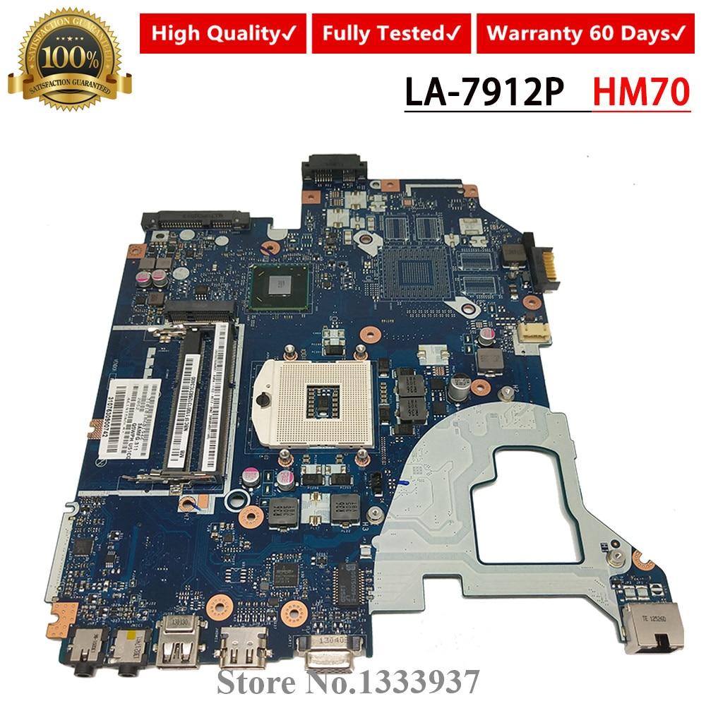 V3-571G Q5WV1 V3-571 LA-7912P Laptop Motherboard For Acer E1-531 NV56R SLTNV HM70 Mainboard REV 1.0/2.0