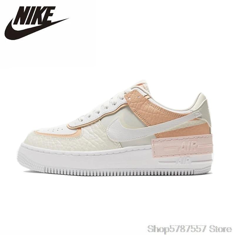 Original Nike Air Force 1 ombre basse femmes chaussures de skate Comfortbale Balance Sports de plein Air baskets CK3172-002