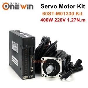 Image 1 - Kit de controlador de servomotor de CA 60ST M01330, 400W, diámetro de 60mm, Servomotor de 220V, 1,27nm, 3000rpm, A1 SVD15