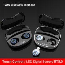 TWS Bluetooth Earphones Wireless Headphones Stereo Sport Waterproof Earbuds Headsets With Microphone LED Display Charging Box