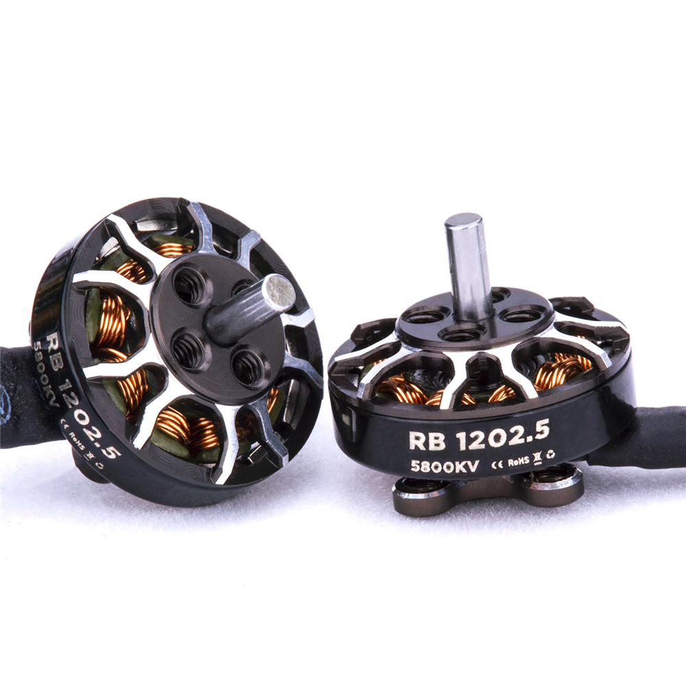 Flywoo ROBO Series Motor RB 1202.5 5800KV 2-4S 2mm Shaft <font><b>Brushless</b></font> Motor For Toothpick <font><b>FPV</b></font> Racing RC <font><b>Drone</b></font> image