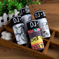 Mens Underwear Boxers Fashion printed Men Underpants Boxer Shorts Modal Male Panties Pouch Sheath Underpants 4pcs