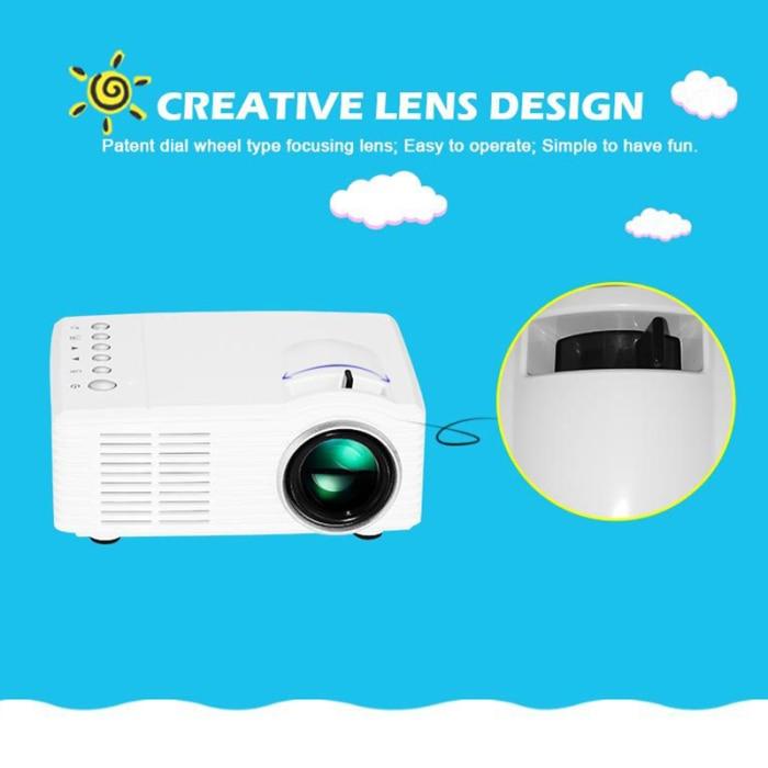 4 k hd 3d mini projetor inteligente