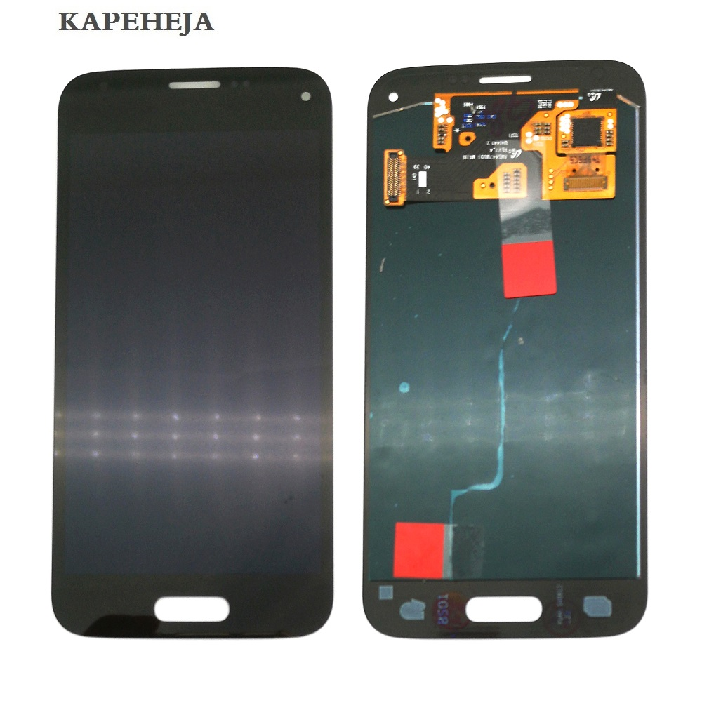 Super AMOLED LCD <font><b>Display</b></font> For <font><b>Samsung</b></font> Galaxy S5 Mini G800 <font><b>G800F</b></font> G800H LCD <font><b>Display</b></font> Touch Screen Digitizer Assembly image