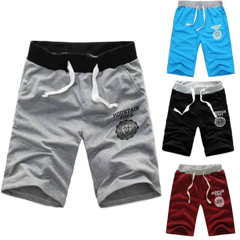 Elastische Taille Fit Shorts 2019 Heren Zomer Workout Shorts Solid Loose Casual Shorts Masculina Plus Size 3XL Hoge Kwaliteit