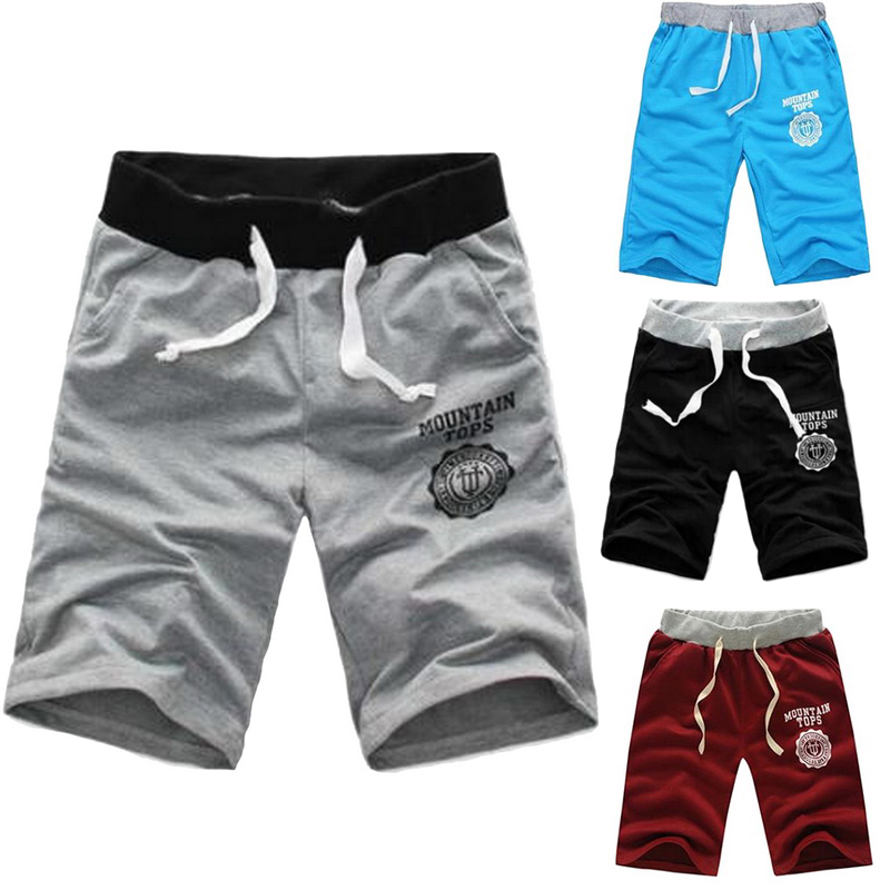 Men's Shorts Elastic Waist Fit Shorts 2020 Mens Summer Workout Shorts Solid Loose Casual Shorts Masculina Plus Size 3XL