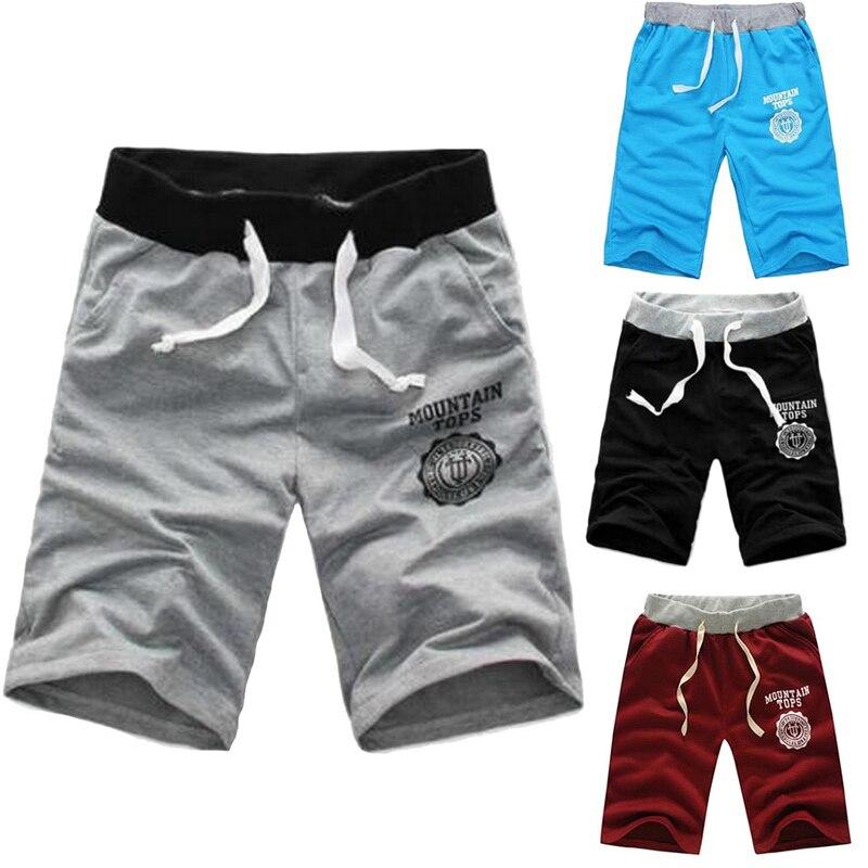 Men's Shorts Elastic Waist Fit Shorts 2020 Mens Summer Workout Shorts Solid Loose Casual Shorts Masculina Plus Size 3XL