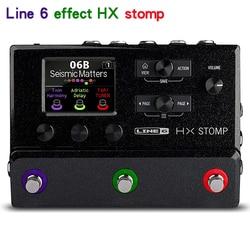 Linie 6 HX Stomp Multi-Effekte Gitarre Pedal, Schwarz