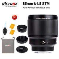VILTROX 85mm f1.8 STM Auto Fixiert Konzentrieren fokus objektiv F1.8 Volle rahmen Objektiv für Kamera Sony E mount A9 a7III a7RIII a7SII A6500 A6400