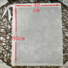 Length 80cm Width 40cm Square Shape 160 Micron Fine Mesh home brew mash filter bag for batch homebrew bucket