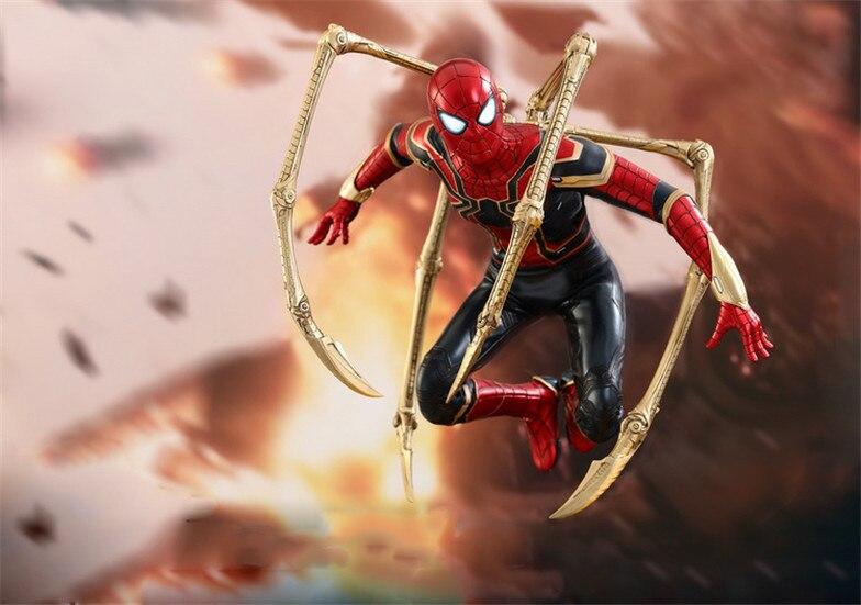Marvel Avengers Iron Spider BJD Spiderman HC Super Hero Figure Model Toys
