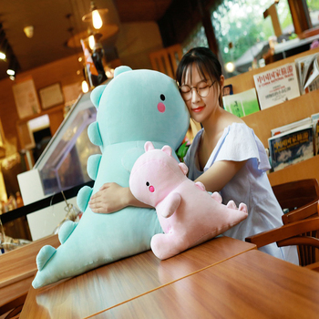 VIP Cartoon Dinosaur Pillow Plush Toys Kawaii Stuffed Soft Animal Doll for Children Baby Kids Cartoon Toy Classic Gift loveyle super soft whale plush toy cartoon animal fish stuffed doll baby sleeping pillow cushion kid girlfriend christmas gift