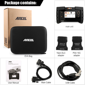 Image 5 - Ancel FX4000 Professional OBD 2 Automotive Scanner ABS EPB Oil Service Reset Full Systems OBD2 Car Diagnostic Tool Auto Scanner