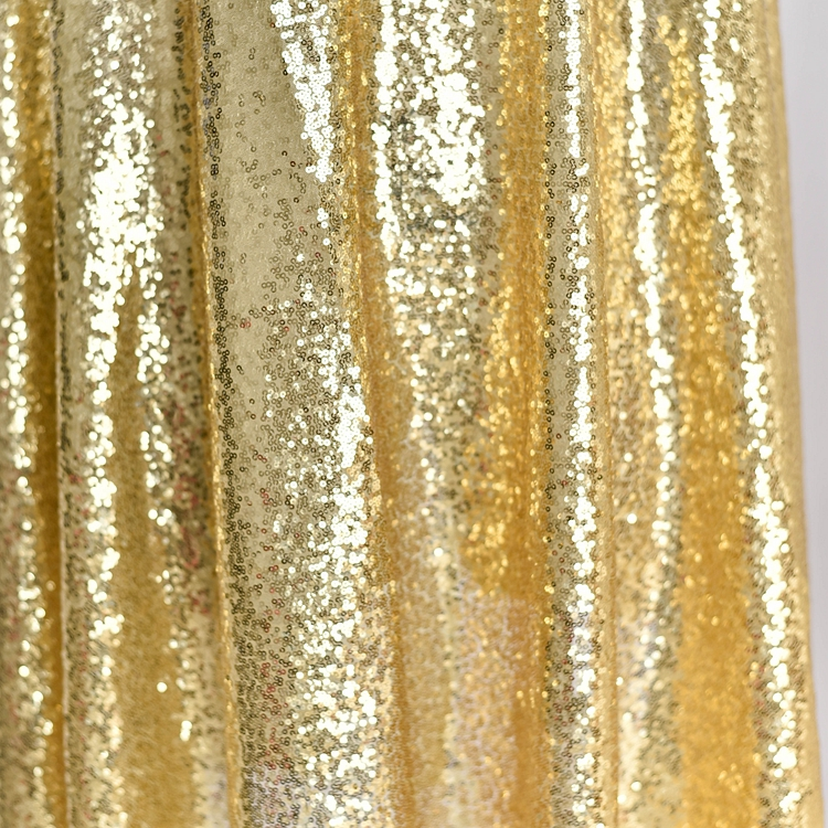 Metallic Pleated Strech Fabric Sparkle Glitter Two Tone Dresses Skirts Cloth DIY