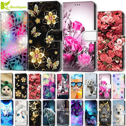 For Motorola Moto G8 Play Plus case leather cover for Moto One macro E6 G7 Play Plus G7 power G6 play E5 E4 Plus flip phone case