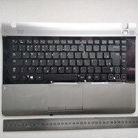 Бразильская раскладка новая клавиатура для ноутбука с тачпадом Упор для рук для samsung RV409 RV411 RV413 RV415 RV420 E3420 E3415 BA75-04330A BR