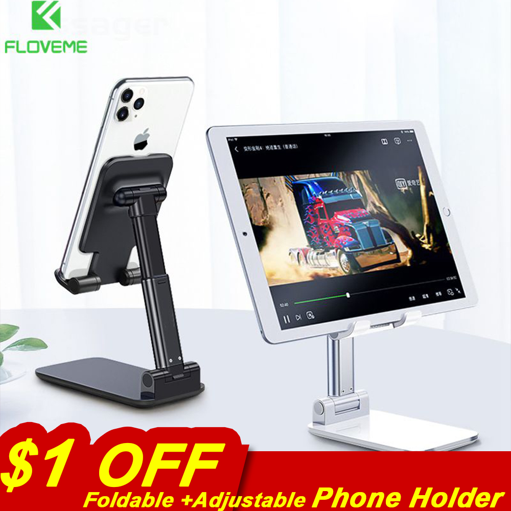 Foldable Mobile Phone Holder Stand Adjustable Desktop Holder Tablet Stand For IPad Tablet Xiaomi Samsung Holder Cell Phone Stand