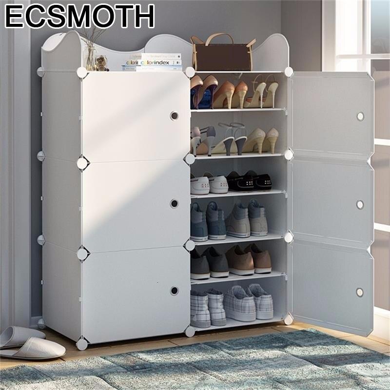 Schoenenrek Organizador font b Closet b font Mobili Armoire Placard De Rangement Scarpiera Rack Meuble Chaussure