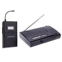 Takstar WPM-200 UHF беспроводной аудио система приемник ЖК-дисплей 6 выбираемых каналов 50 м расстояние передачи