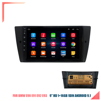 Car Stereo Radio GPS WIFI BT DAB Mirror Link 9 '' Android 9.1 RAM 1GB ROM 16GB OBD for BMW E90 E91 E92 E93 with Canbus