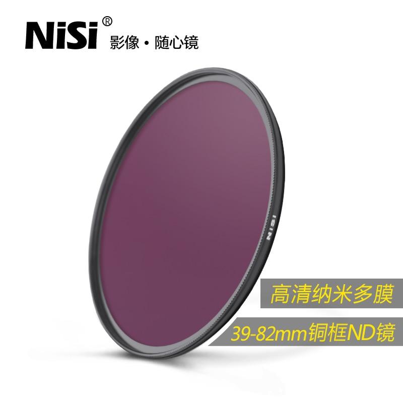 を NISI を 67 ミリメートル 72 ミリメートル 77 ミリメートル 82 ミリメートル ND8 ND 0.9 3 停止減光レンズフィルター  グループ上の 家電製品 からの カメラフィルター の中 1