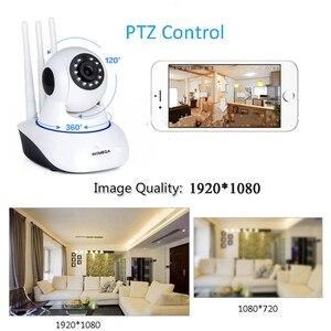 Image 5 - IP камера INQMEGA 1080P 720P 2 м для домашней системы безопасности, беспроводная PTZ мини камера видеонаблюдения, Wi Fi камера, ИК видеоняня, аудиокабель