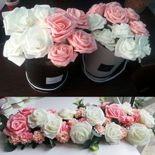 US $4.31 13% OFF 30 Head 8cm Mix Color PE Foam Artificial Rose Flowers for Wedding Decoration Bride Bouquet Scrapbooking DIY Supplies Home Decor-in Artificial & Dried Flowers from Home & Garden on Aliexpress.com   Alibaba Group