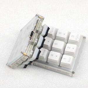 Image 5 - 9 кнопочный QMK Hotswap YMDK RGB с поддержкой функции макросъемки, переключатели типа C MX, механическая клавиатура, цифровая панель для игр, фотошопа