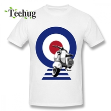 Man Round Neck For Boy Vespa Tee Leisure Summer O-neck For Man Tee shirt
