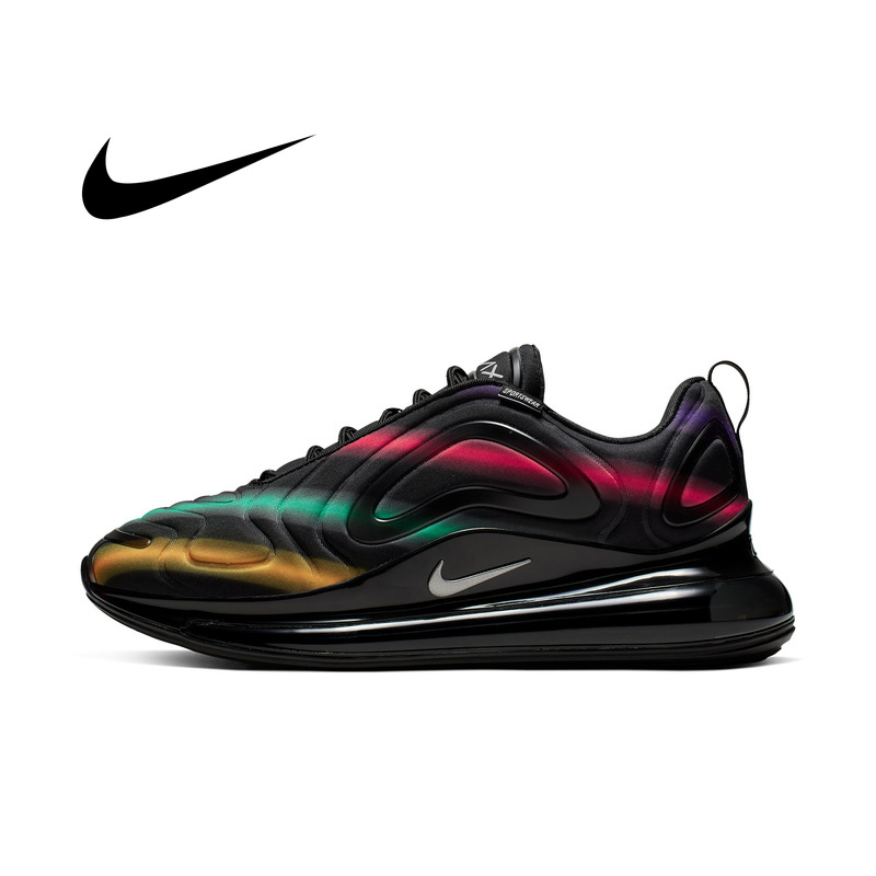 Original Authentic Nike Air Max 720 Men's Running Shoes Breathable and Comfortable Sports Shoes Trend New 2019 Listed AO2924-700 image