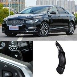 2 sztuk/para aluminium kierownica wiosła rozszerzenie przesuwnika dla Ford Fusion Mondeo dla Lincoln MKS MKT MKX MKZ MKC Continental 20