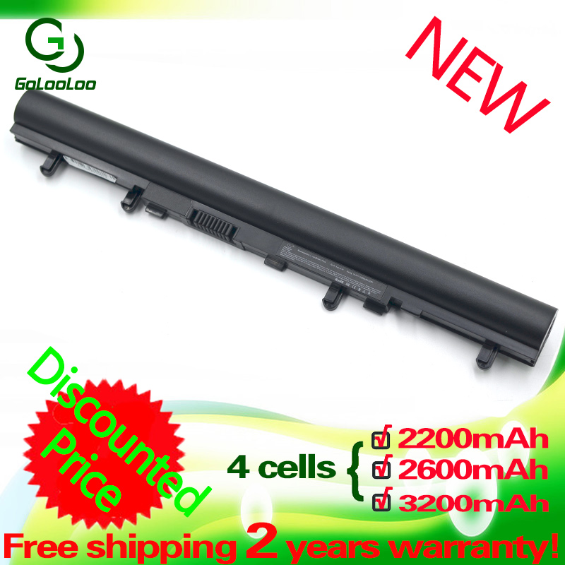 Golooloo Laptop BLACK Battery For ACER Aspire V5-571 V5-571P V5-571PG AL12A32 V5 V5-571G V5-471 V5-471G V5-471P V5-531 V5-551