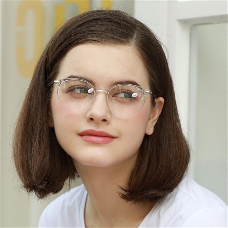 ZENOTTIC Retro Round Glasses Women Eyeglasses Frame Optical Myopia Spectacles Vintage Acetate Frames Prescritpion Glasses BT4306