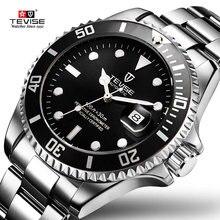 Прямая поставка мужские механические часы ведущей марки tevise