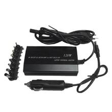 Хит продаж, 3c многофункциональный адаптер для ноутбука, универсальное зарядное устройство 120 Вт для ноутбука, автомобильное зарядное устройство постоянного тока, адаптер переменного тока для ноутбука, штепсельная вилка европейского стандарта
