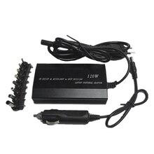 Heißer 3C Multifunction Laptop Adapter Power Ladegerät Universal 120W Laptop Auto DC Ladegerät Notebook AC Adapter Power EU Stecker