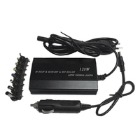 Quente 3c-multifunction portátil adaptador carregador de energia universal 120w portátil carro dc carregador notebook ac adaptador de energia-plugue da ue