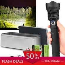 250000cd 1000m XHP90.2 Most Powerful Led Flashlight Usb Zoom