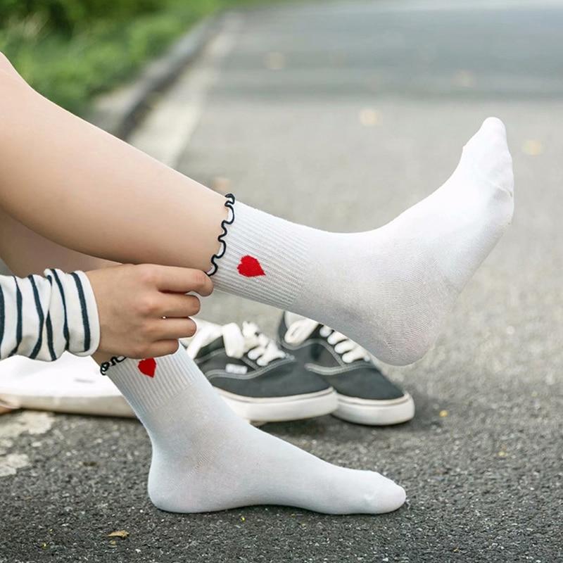 Ladies//Girls Black Avocados Cotton Ankle Socks