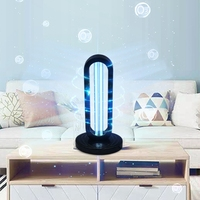 38W UV Disinfection Quartz Lamp Sterilizer Portable Mite Third Gear Timing Ozone Home Ultraviolet Lamp EU Plug