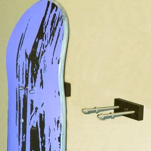 Image 4 - 6/PK Skateboard Floating Deck Display Wall Mount Rack Holder Hanger Fit Home Storage Display