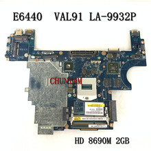 VAL91 LA-9932P FÜR DELL Latitude E6440 laptop motherboard HD8690M\u00282GB\u0029 CN-007KGN 07KGN mainboard NOTEBOOK PC 100% Getestet