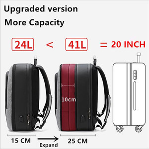 Image 4 - ArcticHunter Sale Laptop Backpack Men 17 inch Office Work Men Backpack Business Bag Unisex 10 inch iPad Backpack Thin Back Pack