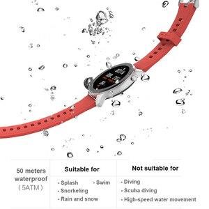 Image 4 - Version mondiale Amazfit GTR montre intelligente 42mm 5ATM étanche 24 jours batterie GPS femmes intelligentes montre Android montre