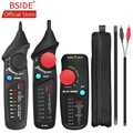 BSIDE FWT82 цифровой режим сетевой кабель трекер провода Тонер RJ45 RJ11 Ethernet LAN Tracer анализатор детектор линия искатель с AVD06