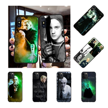 NBDRUICAI Draco Malfoy Soft Silicone Black Phone Case for iPhone 11 pro XS MAX 8 7 6 6S Plus X 5S SE XR case(China)