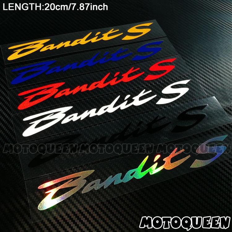 Motorcycle Body Wheels Fairing Helmet Tank Pad Decoration Reflective Stickers Decals For SUZUKI Bandit S 250 600 650 1200 1250