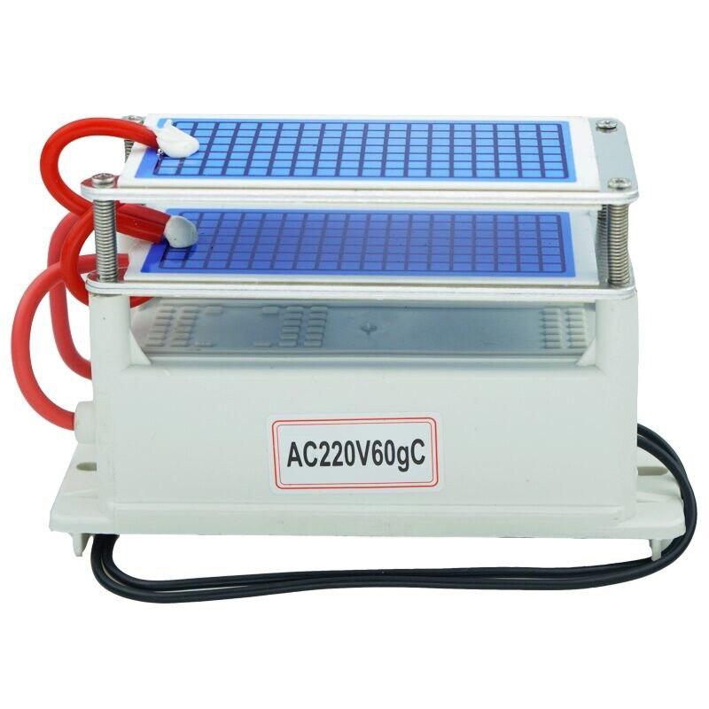 Ozone machine 60g/h Ozone Generator Air cleaner Ozonizer Air sterilize Purifier treatment Formaldehyde Remove odor ozonizador